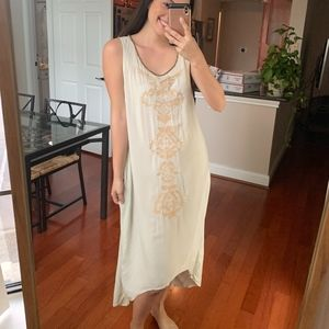 Soft Surroundings Embroidered High Low Pajama  XS